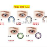 New Bio disposable soft color contact lenses/ wholesale colored contacts good quality made in Korea