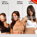New style big boob tube top bra classic pastel seamless bra genie bra with pad 9 colors all size