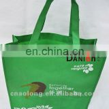 custom company logo foldable non-woven bag