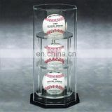 Round clear plexiglass pmma acrylic golf ball case