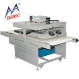 Line type cold and hot hydraulic heat press transfer machine