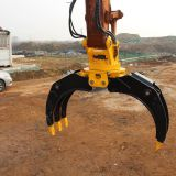 TEREX Excavator Hydraulic 360 Angle Rotating Grapple