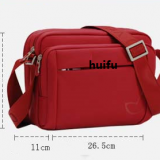 waterproof polyester messenger bag with long shoulder
