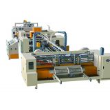 Automatic carton stitching machine