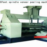 Wood veneer 8ft spindle rotary peeling machine