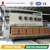 Automatic brick manufacturing plant with Tunnel Kiln ,Red Hollow Brick Making Plant with Coal Feeding