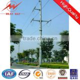 high voltage electric transmission distribution pole with insulator                                                                                                         Supplier's Choice