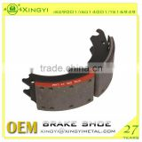 mercedes truck spare parts brake shoe /right hand drive brake shoe /truck brake brake shoes