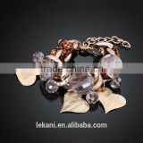 Exquisite Fashion Small Hearts Rope Metal Bracelet For Lady
