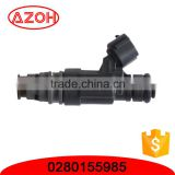 Year 2003-2005 VW Golf Mk4 JETTA 2.8L V6 car engine fuel injection nozzle 022906031F 0280155985 BOSCH