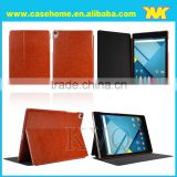 8.9'' pu tablet leather cover with two fold for google nexus9 made in china manufacture