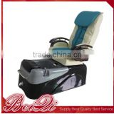 Fashion Professional Nail salon equipment foot spa massage chair pedicure chair with foot care basin