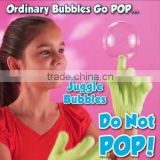2014 As seen on TV bubble game magic bouncing juggle bubble maker