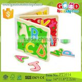 CE Passed Yunhe Factory Wholesale Wooden Letter Book Children Educational Toys                                                                         Quality Choice