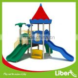 China Used Castle Outdoor Play Structure for Children Nature Series LE.NA.019