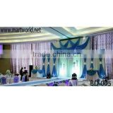 Wholesale wedding decoration fabric ceiling drape for wedding events&party(BD-005)