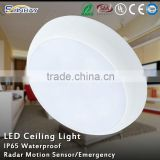 IP65 waterproof wall mounted surface gray round ceiling light 20w led wall light 20w led panel light