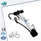 Alibaba china crazy selling dual action mini bike pump with gauge