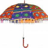 INQUIRY ABOUT Indian parasol colourful Indian sun umbrellas-parasol