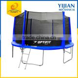 Best selling Small MOQ Outdoor 14ft trampoline with enclosure safety net                                                                                                         Supplier's Choice
