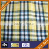 cotton madras check design fabrics for baby shirting clothes