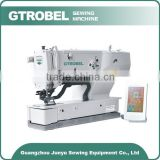Direct selling Step motor drive Button Holing Sewing Machine jeans sewing machine