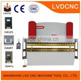 High Accuracy Digital Display Hydraulic Press Brake CNC Delem DA52 system Control System WC67Y- 200Ton/6000mm