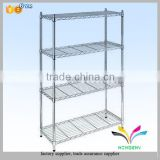 High quality sturdy hotel metal 4 tiers foldable luggage rack