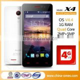 New Arrival 4G LTE android 4.4 Quad Core Unlocked chinese cell phone