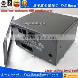 XAX24Alu OEM ODM customized laser cut bend weld sheet aluminum medical equipment and instruments box