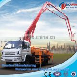 Boom Concrete Pump/ Dowin Concrete Placing Boom Pump Truck