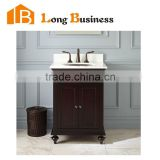 LB-LX2173 New products rustic furniture bathroom sink bath cabinet solid wood vanity                                                                         Quality Choice