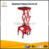 Motorcycle Hydraulic Scissor Lift Table Hand 300LB Multifix Tool Holder