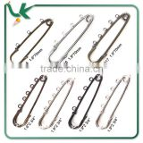 Iron Material 2-3/4 Inch Nickle Colour Decorative Safety Pins
