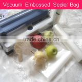 sous vide vacuum sealer machine for vacuum embossed bags