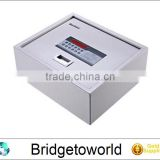 hot selling household embedded anti-theft password electronic safety box,home safe box black or white