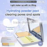 Hydrating powder pact/face powder for dry skin/face whitening powder