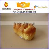 Custom fake food in artificial crafts / artificial fake bread model for party decoration