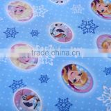 100% polyester fabric printed waterproof fabric with PA coating