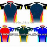 Custom sublimation polyester polo shirts