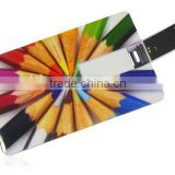 credit card usb 4gb with both sides full color logo print