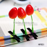 Children Hair Ornament Novelty Flower Hair Clips for Antenna Grass Clip Strawberry Hairclips