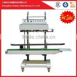 Semi-automatic potato chips bag sealing machine