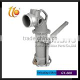 "4"" Dual Point (Liquid) Loading & Unloading Vapor Elbow/stainless steel single head elbow"