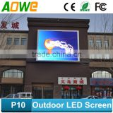 Roof Building Advertising outdoor P10 P16 full color for outdoor use/ p10 led display screen/outdoor P10 led display