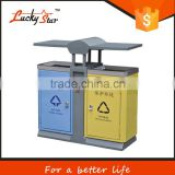 100 liter handmade plastic dustbin plastic color coded