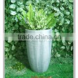 wholesale modern simple and generous garden ornament polyresin outdoor large flower plant pots