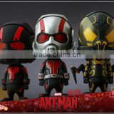Marvel HT Antman shake head cosbaby PVC action figures /hottoys acttion toy