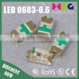 620-625nm Top View Chip LED 1608 for Keypad backlight