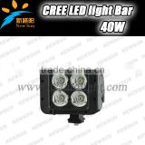 NEW Product C ree Double Row Offroad Led Light Bar 40w Straight led light bar With Spot/flood/Comb Beam